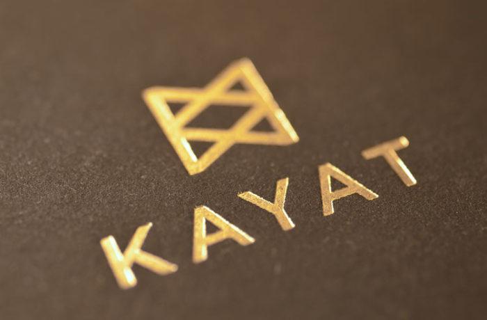 Gold Prägedruck (matt)